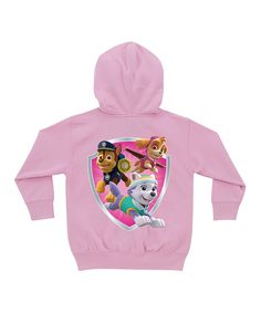 Pink PAW Patrol Personalized Zip-Up Hoodie - Toddler & Girls by PAW Patrol #zulily #zulilyfinds