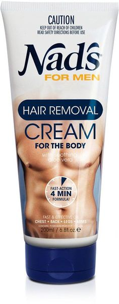 Nad's for Men Hair Removal Cream delivers painless hair removal for men, with results that last longer than shaving. The extra strength cream is formulated especially for coarse body hair and is effective in as little as 4 minutes. Underarm Hair Removal, Natural Hair Removal, Hair Removal For Men, Hair Removal Methods, Hair Removal Cream, Laser Hair Removal, Natural Hair Styles, Remove Unwanted Facial Hair, Unwanted Hair