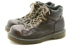 Dr Doc Martens mens shoes size 11 brown leather boots hiking casual UK 10 #DrMartens #HikingTrail