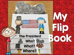 Included in this flip book is everything you need to make a cute flip book about the president!There are 3 choices for a cover page.Each page reads,Who, What, and Where? To answer about the current presidentThere is also the choice of two images to color and cut out to place behind the flip book.*THIS IS INCLUDED IN THE BUNDLE!*You can find the bundle here