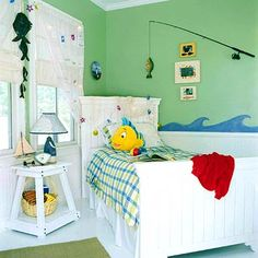 the wave, theme rooms, baby boys, kid rooms, boy rooms