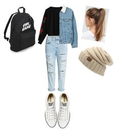 """""""Dance Practice Look"""" by exotics-benita-hunhan on Polyvore featuring H&M, Converse and NIKE"""