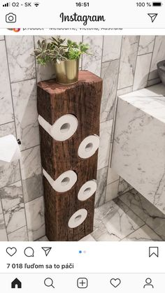 Diy Bathroom Decor, Diy Home Decor, Bathroom Organization, Wood Bathroom, Bathroom Storage, Bathroom Ideas, Budget Bathroom, Earthy Bathroom, Small Rustic Bathrooms