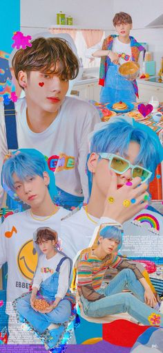 I Wallpaper, Aesthetic Iphone Wallpaper, Aesthetic Wallpapers, Wallpapers Kpop, Cute Wallpapers, Funny Pictures Can't Stop Laughing, Look At The Stars, Blue Hour, K Idols