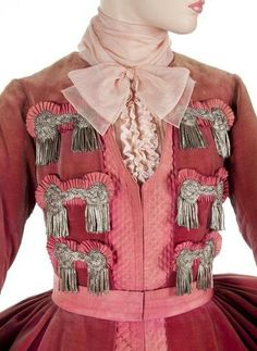 """Costume designed for an extra in """"Marie Antoinette"""", 1938"""