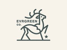 Evrgreen Co. Logo  ///  By Steve Wolf