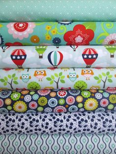 Lori Whitlock, Lazy Day, Blue in FAT QUARTERS 7 Total
