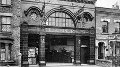 The renaming of Gillespie Road station
