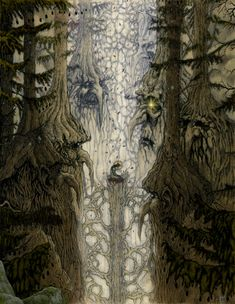 "Ents were sentient, humanoid beings created at the request of Yavanna to protect the trees from other creatures, particularly Dwarves, and thus were called ""Shepherds of the Trees""."