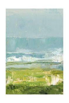 Coastal Overlook I Art Print by Ethan Harper at Art.com