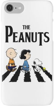 Peanuts Abbey Road iPhone 7 Cases