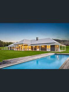 Address available on request, Bellawongarah, NSW 2535 - Property Details Country Home Exteriors, Country House Design, Country Style Homes, Australian Country Houses, Australian Homes, Facade House, House Roof, Farm House, Family House Plans