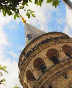 GALATA❤❤ Istanbul Turkey, Pisa, Fair Grounds, Tower, Building, Beautiful, Instagram, Cities, Traveling