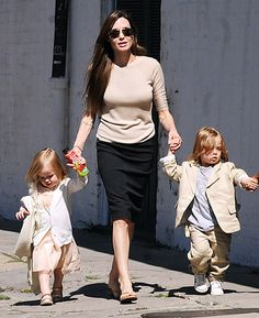 """Two days after Jolie arrived in New Orleans, she and Pitt bought snacks for the kids at Verti Market. """"I'm not the best cook. Pax is a better cook than me,"""" the actress told Vogue in December. """"But the kids are very sweet...so enthusiastic anytime I cook"""