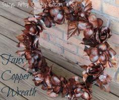 DIY Tutorial DIY Halloween Decor DIY Halloween Crafts / DIY Halloween Nevermore Wreath - Bead&Cord