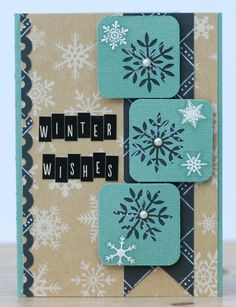 Carina Lindholm Winter Wishes Card