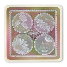 Artwork designed by Barbara Gray using Clarity stamps and products. The home of clear stamps. Hobbies And Crafts, Diy And Crafts, Paper Crafts, Barbara Gray Blog, Parchment Cards, Butterfly Template, Silk Ribbon Embroidery, Pop Up Cards, Copics