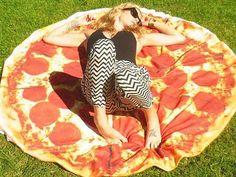 First there was the pizza bed. Then there was the pizza sleeping bag. If those aren't enough pies for you (it never is), here's another one: pizza towels. PizzaTowels.com is a company in Bondi Beach, Sydney who sells – as the name implies – giant towels that look like pizzas. 'We make over-sized 100 per […]: