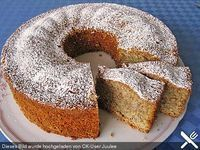 Eierlikör – Nuss – Kuchen Eggnog – nut – cake, a very delicious recipe from the category cake. Baking Recipes, Dessert Recipes, German Baking, German Cake, Oreo Desserts, Pound Cake Recipes, Food Cakes, No Bake Cake, Yummy Cakes