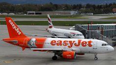 Easyjet pilots consider half-term strike action - BBC News
