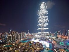 Burj Khalifa New Year's Eve