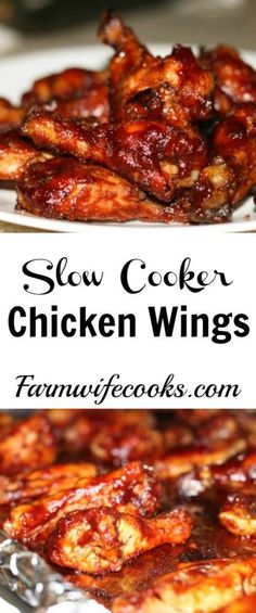 Are you looking for a wing recipe that will win the crowd over on game day? These slow cooker Sticky Chicken Wings will kick up any party!