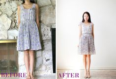 Life is Beautiful: DIY: tailor & add sleeves to a dress
