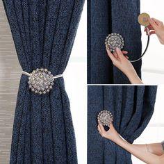 1/par magn/ético Diamond Flower cortina Clips abrazaderas para