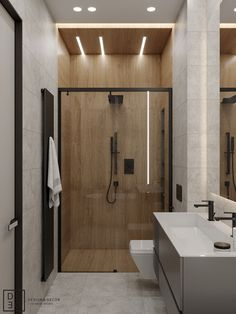DEDE/Eco minimalism apartment on Behance Washroom Design, Bathroom Design Luxury, Modern Bathroom Decor, Modern Bathroom Design, Bathroom Furniture, Small Bathroom, Bedroom Modern, Loft Interior, Minimalist Bathroom