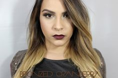Holiday Looks | Bronzed Cranberry