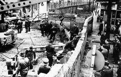 Η κατασκευή του Τείχους του Βερολίνου, 1961