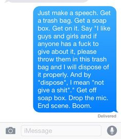 BuzzFeed LGBT: Feb. 22, 2015 - Fifteen text messages that ease the anxiety of coming out as gay, bisexual