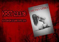 Pozvánka na KRST knihy Chúťky upíra! :: JAKUB POKORNÝ  #fantasy #upir #krimi #triler #slovakia #gameexpo #animeshow #march #marec #dnescitam