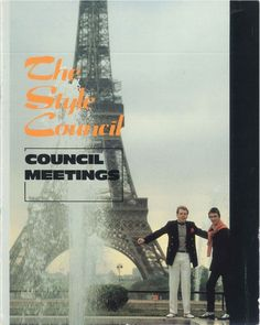 The Style Council Tour Programme. I saw them 5 times in a week. The Style Council, Wave Rock, Paul Weller, Power Pop, Him Band, Pop Group, New Pictures, Cool Bands, Something To Do