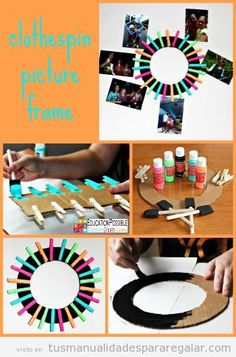 6 DIY Gifts Middle School Girls Can Make For Friends If you have a teen girl that loves to craft and give gifts to her friends you'll want to check out these easy frugal and fun crafts. The girls in your life will love them! - March 10 2019 at Diy Crafts For Teens, Cute Crafts, Crafts To Do, Easy Crafts, Arts And Crafts, Teen Girl Crafts, Clothespin Picture Frames, Deco Originale, Diy Gifts For Friends
