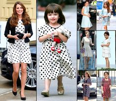 Kate Middleton Copies Suri Cruise's Style Take a Look at pictures of how Kate Middleton's fashion choices echo those of another princess, Katie Holmes and Tom Cruise's daughter Suri.