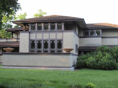 Ward Willits House |  The Willits House, completed in 1902, is recognized as Wright's first fully articulated Prairie House.  |  On a list of Wright's top five greatest masterworks I think this house would have to be included.