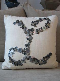Monogram Pillow/Personalized Pillow/Initial Pillow/Home Decor Pillow/ Monogram Wedding Gift/ Letter Pillow/Letter Home decor/Custom Pillow