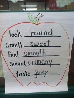 Life Is Sweet....In Kindergarten!: An apple a day.....