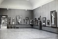 View from the first exhibition, Turku Art Museum 1904.