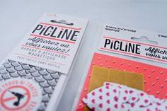 Picline, la solution pour accrocher vos photos et tous vos trucs au mur (sans trous!)