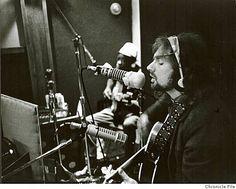 Van Morrison recording Astral Weeks