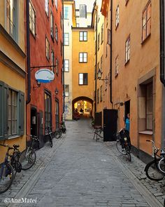 Stockholm City Guide (with Insights and Visuals) - Stockholm Travel Guide Holiday Destinations, Travel Destinations, Stockholm City, Stockholm Sweden, Cities In Europe, Continents, Cool Places To Visit, Old Town, The Good Place