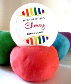 Scented Dough  Set of 6  Play Clay Perfect for by MyLittleOtter, $13.50