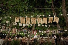 Southern weddings - photo wall