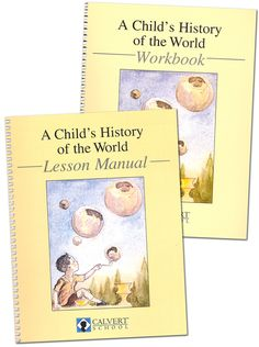 Childs History of the World Manual & Wrkbk (purchased 08/2013, Rainbow)