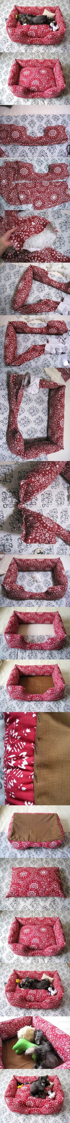 DIY Sew Couch for Pets 2