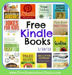 Over 65+ Free Kindle Books: Lazy Cakery, 300+ Jokes for Kids, The Life of Dr. King for Early and Beginning Readers, How To Save Money On Groceries + More!
