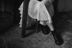 Peter Lindbergh for Vogue Italy | Freja and Lara