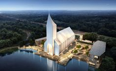 As worshipping practices evolve to reflect the modern world, spaces of religious veneration are being tailored to reflect the needs of modern worshippers. Cologne based architecture firm RSAA / Büro Ziyu Zhuang recently unveiled designs for a new ch...